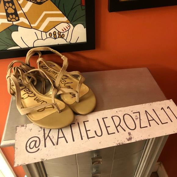 Sam Edelman Shoes - Sam Edelman size 8 sandals 🧜♀️*